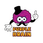 purple brain logo